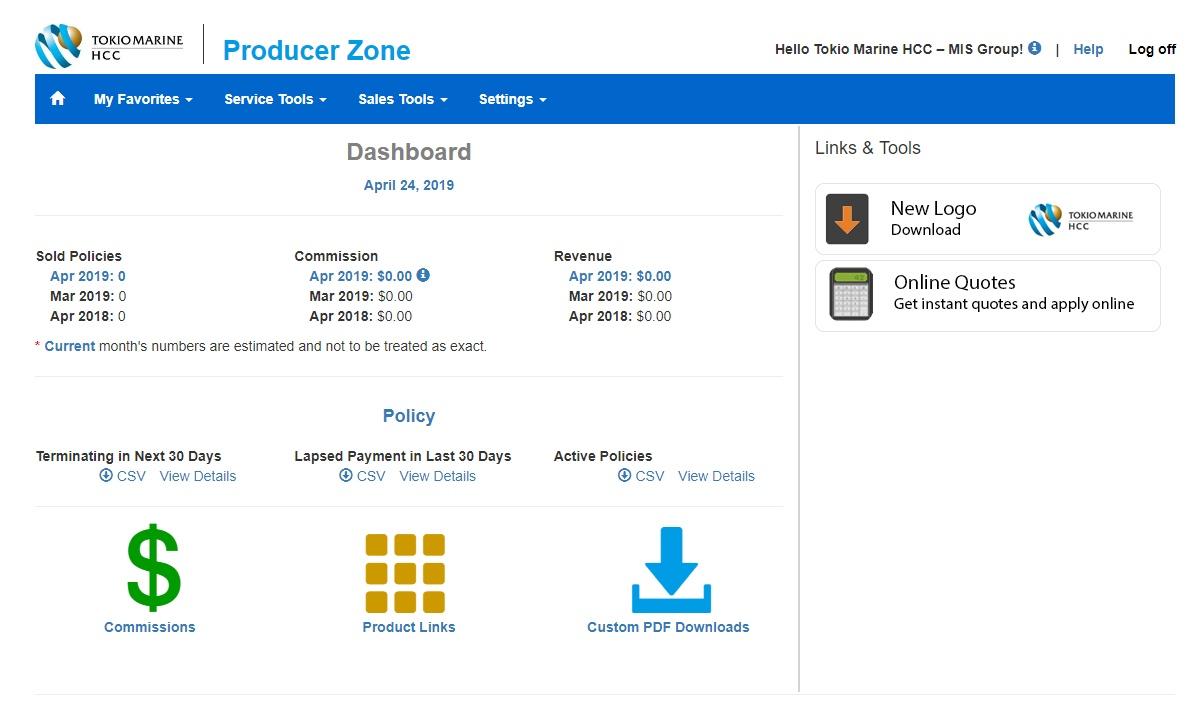 producer-zone